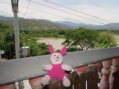 The Adventures of 'Pink Flor': Pink Flor travels to Santa Fe de Antioquia - May 1...