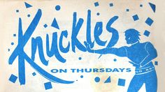 Flyer: Frankie Knuckles - Chicago 1985