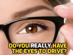 Do You REALLY Have The Eyes To Drive? Visual DMV Test.