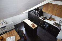 Elegante appartamento mansardato di 57mq a Stoccolma