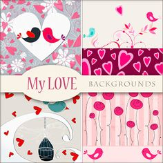 Scrap. DOT: Freebies Backgrounds - My Love - Found and downloaded today 28 July 2013