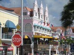 Downtown in Oranjestad