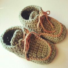 Baby Booties for little man.