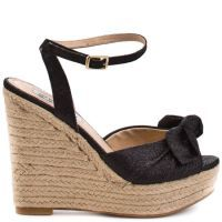 Dress up your casual day to day look in these glitzy espadrilles from Steve Madden. SO CUTE!