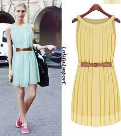 Mini Vestido Plissado R$79,90