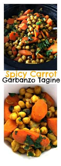 Spicy Carrot Garbanzo Tagine | ReluctantEntertainer