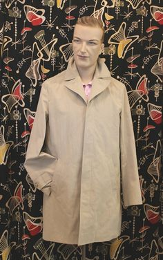 STRANGELY NORMAL :: Products Auckland, Raincoat, Menswear, Retro, Stylish, How To Wear, Jackets, Clothes, Shopping