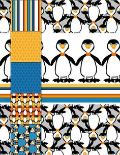 Linsey's Penguin Collection - Represented by Marty Segelbaum - MHS Licensing Minneapolis, Minnesota