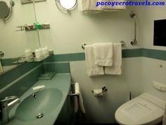 Cuarto de baño del Costa Fortuna #cruceroconniños http://www.pacoyverotravels.com/2014/03/crucero-con-ninos-oriente-medio-costa-cruceros.html