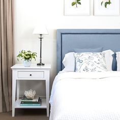Our stunning duck egg blue pure linen studded bedhead captures the style and grace of classic Hamptons decor. Hamptons Style Bedrooms, Hamptons Decor, The Hamptons, Linen Bedroom, Bedroom Decor, Bedroom Ideas, Master Bedroom, Duck Egg Blue Linen, Bed Linen Inspiration