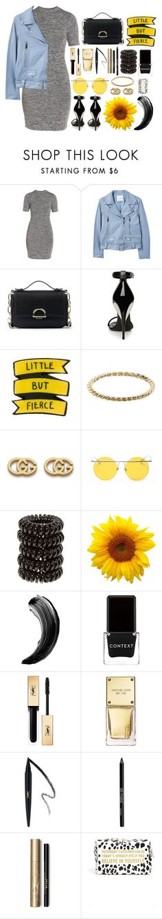 """""""Two"""" by sarahbernadez ❤ liked on Polyvore featuring French Connection, MANGO, Sole Society, La Perla, Luna Skye, Gucci, LMNT, Context, Yves Saint Laurent and Michael Kors"""