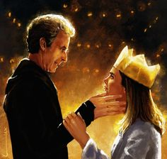 #DoctorWho Artwork: Clara and the Doctor...