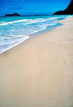 Waimanalo Beach, Oahu, Hawaii. #beach #oahu #hawaii
