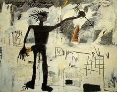 Jean Michel Basquiat, 1982 Self Portrait
