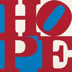 Robert Indiana (b. 1928)  Hope