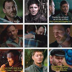 Benny and Dean   Supernatural