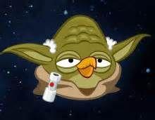 Angry Bird Yoda