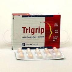 Trigrip (by Walmark) {Paracetamolum 200 mg, Acidum ascorbicum 150 mg, Coffeinum 25 mg, Chlorphenamini hydrogenomaleas 2,5 mg}