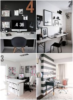 Dream rooms, bedroom workspace, room decor bedroom, home office decor, ho. Room Decor Bedroom, Diy Room Decor, Bedroom Workspace, Diy Home Decor Easy, Diy Furniture Plans, New Room, Home Decor Inspiration, Office Decor, Sweet Home