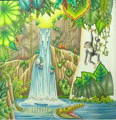 Inspirational Coloring Pages by @peta_hewitt #magicjungle #selvamagica #johannabasford #livrosdecolorir #coloringbook #adultcoloring #adultcoloringbook