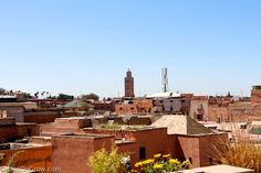 Nomad Marrakech rooftop view