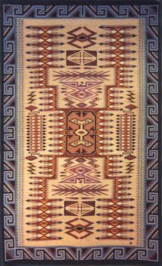 Navajo Weaving - Storm Pattern 01