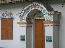 Slovácká búda Uherské Hradiště - detail žudra - Miško Eveno – Wikipedie