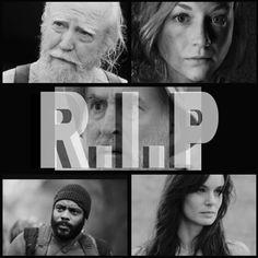 Hershel, Beth, Dale, Tyreese & Lori
