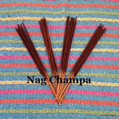 """Nag Champa Incense Sticks, 20 Pack, Hand Dipped, Wooden Sticks, 11"""" Long, Made to Order, Stocking Stuffer, Strong, Made in the USA by AshcraftCottage on Etsy"""