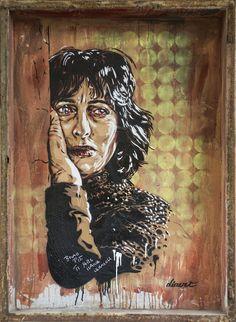 StreetArtRoma: Cinema Impero   Diavù   2014   Zona: Torpignattara   #art #streetart #roma
