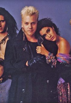 The Lost Boys, one of my favorite vampire movies.