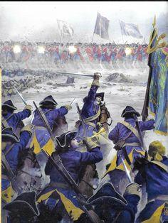 Swedish Flag, Military Diorama, Napoleonic Wars, Modern Warfare, Military History, 18th Century, Sweden, Weapons, Armour