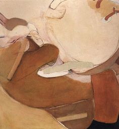 Nude at basin 1963 Brett Whiteley