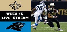 New Orleans Saints At Carolina Panthers – Live Streaming – NFL Week 15 Usa Sports, New Orleans Saints, Carolina Panthers, Super Bowl, Nfl