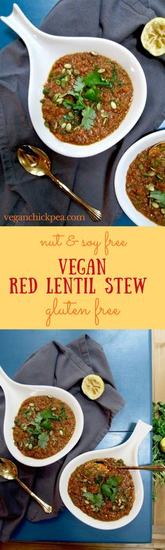 Vegan Red Lentil Ste