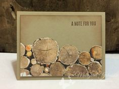 2017  Wood Pile Using the Wood Textures Designer Series Paper Stack and the Wood Words Clear-Mount Stamp Set