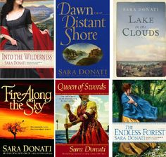 """'Into the Wilderness' by Sara Donati -- the characters are part of the family of Hawkeye and Cora from """"Last of the Mohicans."""""""
