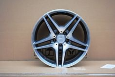 380.00$  Buy here - http://ali7d3.worldwells.pw/go.php?t=32680786874 - 4 New 18x9.5 wheels for MERCEDES BENZ AMG STYLE RIMS WHEELS Gunmetal Machine Face +45mm Alloy Wheel Rims W828