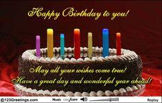 An Interactive Birthday Wish