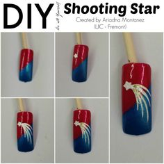 Today's #LjicTuesTorial is a shooting star nail design created by Ariadna M. from #LJIC - Fremont. Excellent job Ariadna & thank you for participating in this week's TuesTorial. For a closer look at each design visit, http://www.ljic.edu/Media/News/TabId/124/ArtMID/613/ArticleID/86/DIY--4-Fun-Looks-for-the-Season.aspx  LIKE: www.facebook.com/lajamesinternational