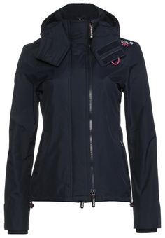 Superdry - Jas - french navy / punk pink mesh / silver € 100