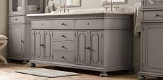 St. James Bath Collection - Antiqued Graphite | Restoration Hardware