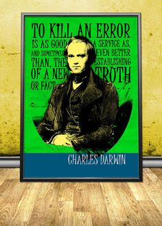 """Charles Darwin Quote Printable Instant Download by pahleeloola. Use the coupon code, """"PIN10"""" for 10% off on your entire purchase! Click to buy and print!"""