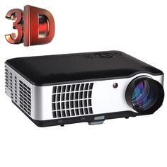 269.72$  Buy here - http://aliytn.shopchina.info/1/go.php?t=32658568034 - 3D 1080P 3500 Lumens Projector Home Theater Cinema LED/LCD HDMI VGA AV TV VGA HD  #aliexpresschina
