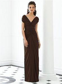 After Six Style 6652  #brown #bridesmaid #dress