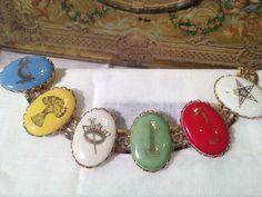 Vintage Order of the Eastern Star Bracelet by TheModPasse on Etsy, $20.00