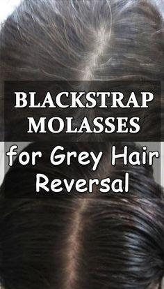 Blackstrap Molasses for Grey Hair Reversal - Getinfopedia.com