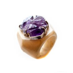 Amatista Ring I, $83, now featured on Fab.