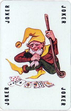 Joker Joker Playing Card, Joker Card, Unique Playing Cards, Vintage Playing Cards, House Of Cards, Deck Of Cards, Jester Tattoo, Bicycle Cards, Superbat