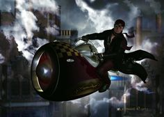 Steampunk Airman by Kachinadoll on deviantART